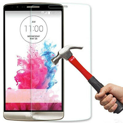 100% GENUINE PREMIUM TEMPERED GLASS SCREEN PROTECTOR FILM FOR  G3 D855 D850