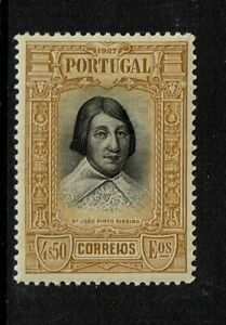 Portugal-SC-436-Mint-Hinged-Hinge-Remnant-see-notes-S6333