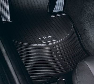 BMW 3 Series E46 Rubber All Weather Front Mats Black 82550151192