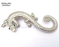 Saruman Lizard Brooch Pin Badge HOBBIT LOTR Lord Of The Rings Smaug Reptile
