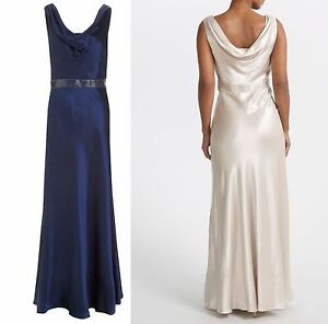 ex-John-Lewis-Dessa-Maxi-Occasion-Wedding-Bridesmaid-Satin-Dress