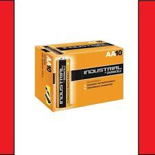 10x Duracell AA Industrial Procell Alkaline Batteries LR6, MN1500, MIGNON, STILO
