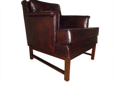 Mid Cenutry Modern Edward Wormley Lounge Chair For Dunbar