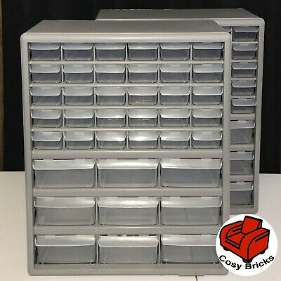 Stack-On DS-39 Storage Cabinet 2x Cabinets 39 Drawers