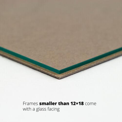 Craig Frames 1WB3BK Custom Sizes Contemporary Black Picture Frame
