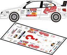 DECALS 1/43 CITROËN XSARA WRC - #14 POLO - RALLYE DU VAR 2011 - MFZ D43108