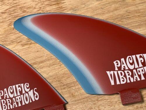 Boards Pacific Vibrations Surfboard Flossen Fcs Regler Quad Schablone Wellenreiten