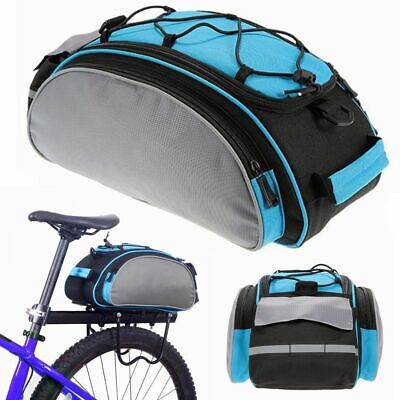 Cycling Bike Bicycle Rear Tail Seat Pannier Bag Pouch Rack Trunk Travel Shoulder