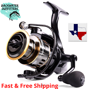 Spinning Reel HE1000 5.2:1 Gear Ratio 22lb Max Drag Excellent Reel for Bass