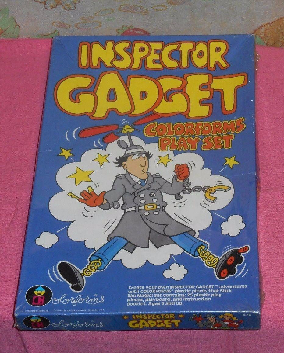 Vintage INSPECTOR GADGET GADGET GADGET COLORFORMS MISB sealed ed9355