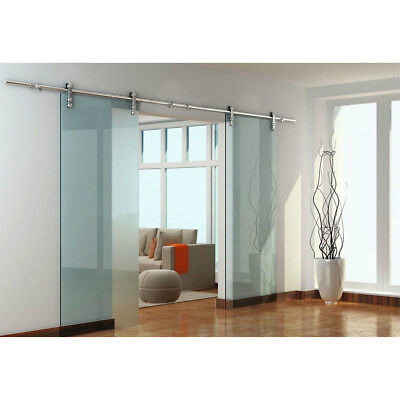 Double Gl Sliding Barn Door