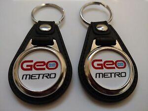 Image Is Loading Geo Metro Keychain 2 Pack 1989 1990 1991
