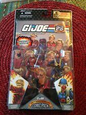 GI Joe 25th anniversary COMIC PACK 2-Crimson Guard /& Scarred Cobra officer