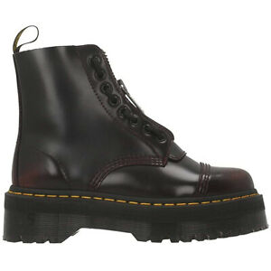 drmartens womens boots sinclair casual ankle laceup zip