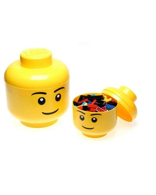 Lego Small Storage Head Boy Boy Boy RETIRED - Cheapest on ebay    - Brand New & Sealed 0dafc6