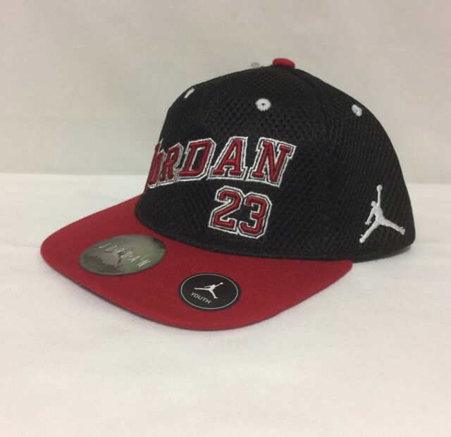 decd342469c ... best price nwt youth nike jordan jumpman 23 snap back cap black red 8  20 c9b21