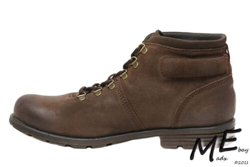 MSRP $130 New Clarks Collection Darian Heath Men Leather Boots Sz 11.5