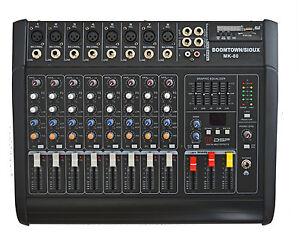 8-KANAL-POWERMIXER-1300-watt-NEUE-VERSION-MK-II-DSP-EFFEKTE-4-AUSGANGE