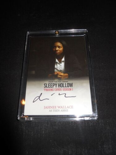 CRYPTOZOIC SLEEPY HOLLOW SEASON 1 AUTOGRAPH CARD JAHNEE WALLACE #JW Holder