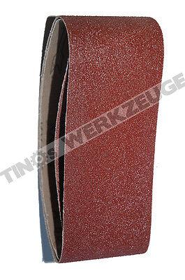 Gut 10 Stücke Schleifband 75 X 533 Mm Schleifpapier Gewebeschleifband Körnung = 180