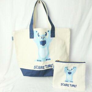 DISNEY 2tlg. Taschen SET * MONSTER AG * Shopper Bag Strandtasche Sulley Mike