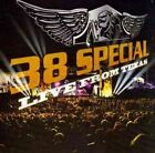 Live From Texas by 38 Special CD 020286156604