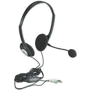 Manhattan-Cuffie-Stereo-con-Microfono-e-Regolazione-del-Volume