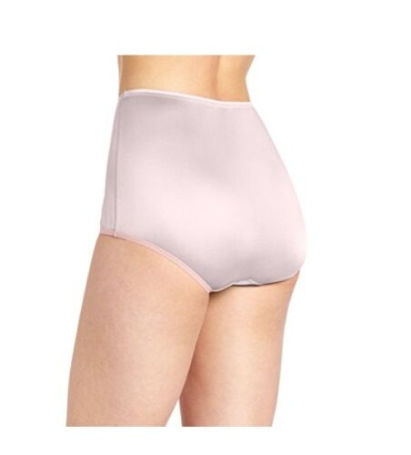 Vanity Fair Women/'s 15712 Ravissant Tailored Nylon Brief Panty Pink 10//3XL