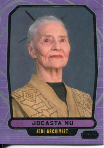 Star Wars Galactic Files Series 1 Base Card #56 Jocasta Nu