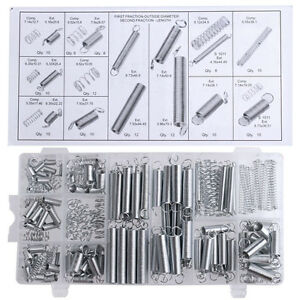 High Quality 200PCS/set Metal Tension/Compresion Springs Assortment In 20 Sizes