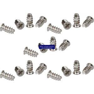 20-Stueck-5-x-10mm-Schraubenkit-fuer-Systemluefter-Gehaeuseluefterschauben-silber