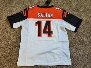 Andy Dalton #14 Cincinnati Bengals Jersey YOUTH XL | eBay