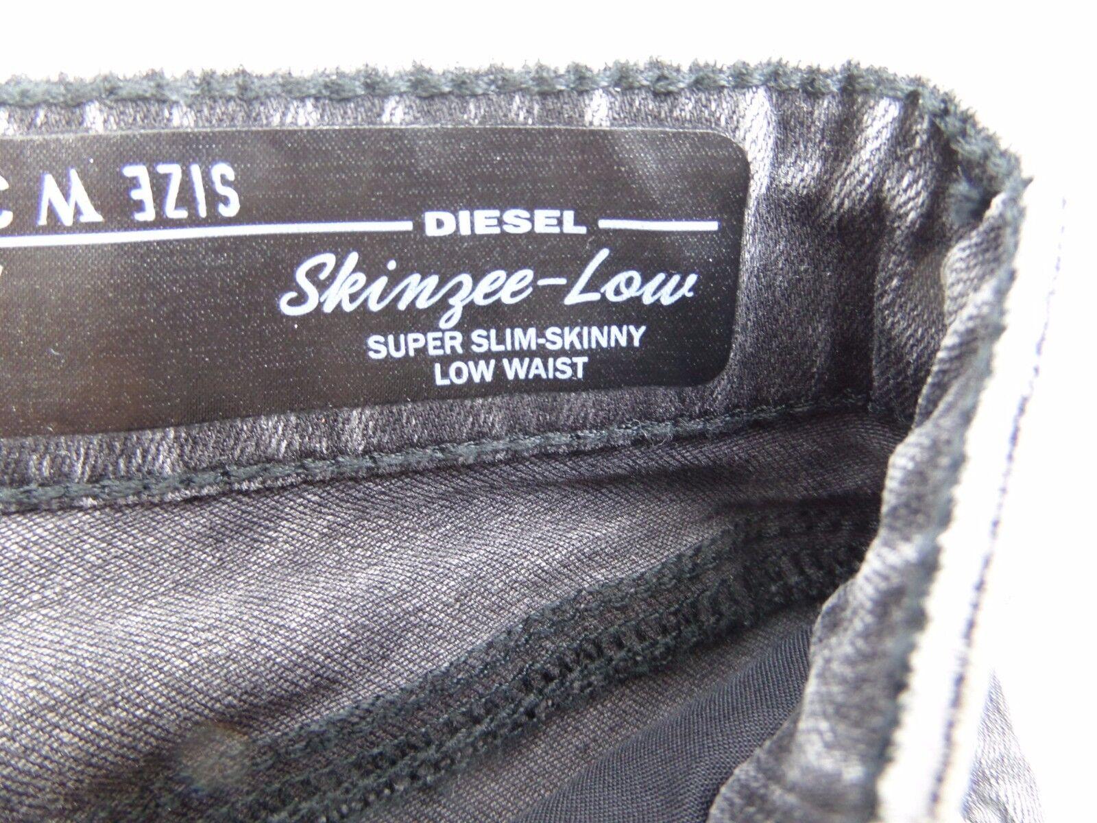 New Women/'s Diesel D.N.A Skinzee Super Skinny Jeans  WASH0847Y