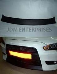 Mistubishi Lancer 08-16 ABS Trunk Rear Lip Spoiler Unpainted Smooth Primer
