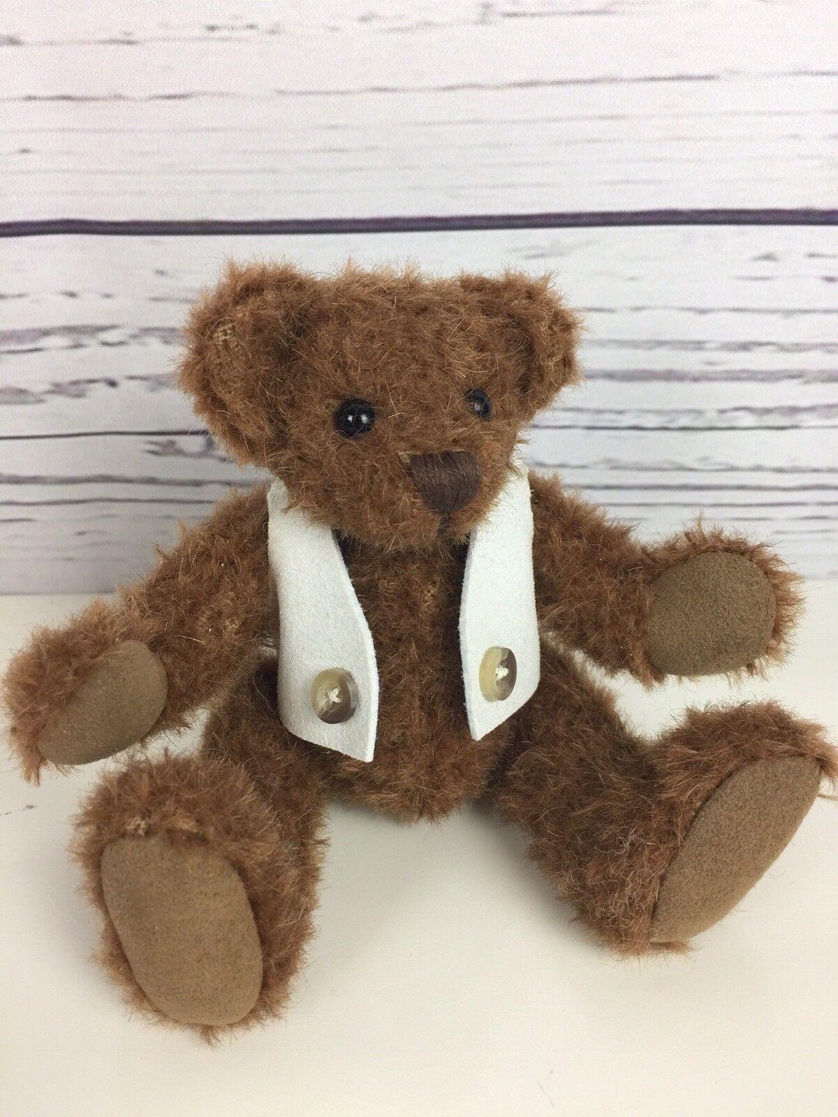 Chayden ORSI Elliot ooak handmade MINI Mohair ARTISTA TEDDY BEAR 6