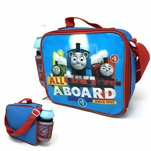 Thomas-The-Tank-Engine-amp-Friends-Lunch-Box-With-Water-Drinks-Bottle-School-Kids