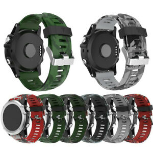 5x Plus NEW 26mm Quick Release Silicone Wrist Band Strap For Garmin Fenix 5x