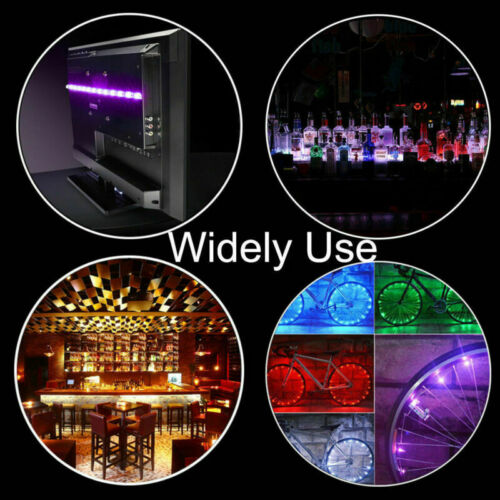 USB LED Strip Lights 16.4ft TV Back Light 5050 RGB Color Changing 24Key Remote