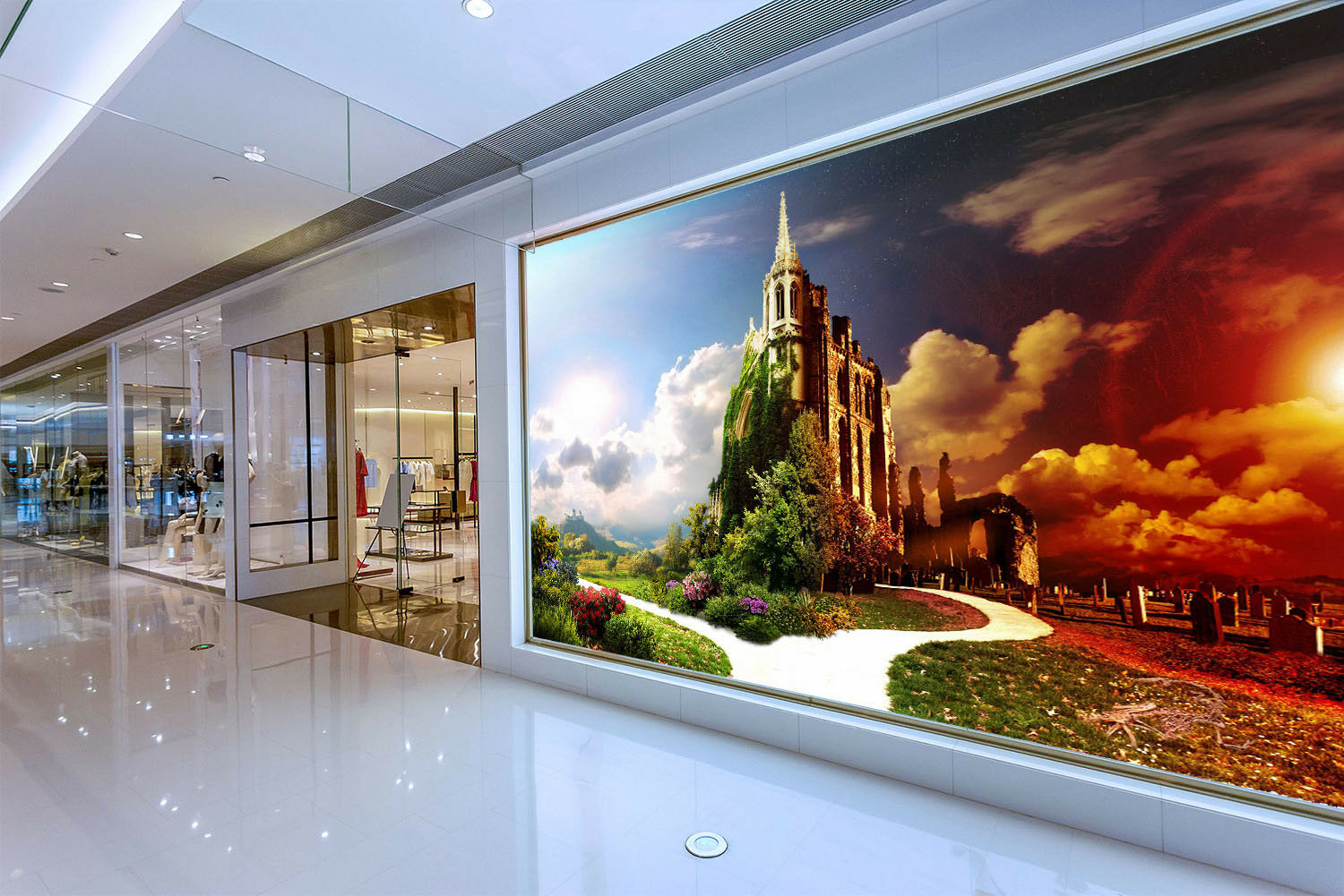 3D Castle Scenery 725 Wall Paper Murals Wall Print Wall Wallpaper Mural AU Kyra