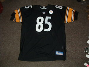 best website db9d4 17697 Details about JAY RIEMERSMA #85 PITTSBURGH STEELERS HOME AUTHENTIC FOOTBALL  JERSEY sz 54 NEW
