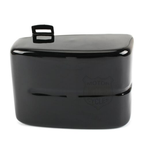 Gloss Black Faring Battery Cover Left Side For Harley Dyna FXD 2006-2017 13 14