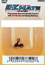 Bachmann 78502 'N' E-Z Mate MK2 Magnetic Knuckle Couplings Medium Shaft 2pr Card