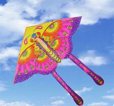 1x enfants jouet 50CM sports de plein air imprimé long tail papilloncerf-volant