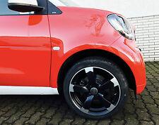 Sommerräder Alufelgen smart fortwo 453 DBV Torino schwarz poliert 16 Zoll Nexen