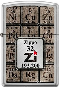 image is loading zippo 32 034 zi 034 19320 the periodic - Periodic Table Zi