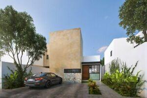 Casa de una planta en VENTA en Residencial Gardena en Cholul