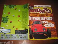 RIVISTA ROMBO 1987/10=MAGGIOLINO AUTO DEL SECOLO=RALLY TURCHIA=FUJITSU TEN=