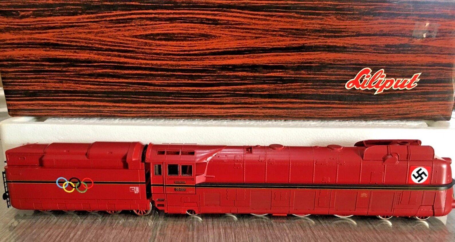 LILIPUT 10501 scala H0 Locomotiva a vapore carenata DRB BR 05 001  Olimpionica