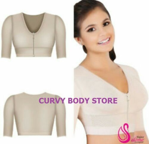 Details about  /BRASSIERE WITH SLEEVE ARM SHAPER FAJAS SALOME 0328-3 FRONT CLOSURE POST SURGERY