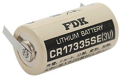 3v Fdk 1800mah Und Ein Langes Leben Haben. Cr17335se 2/3 A Lithium Batterie U-lötfahne sanyo